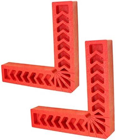 90度 クランプ 直角位置決めクランプ 取り付け工具 赤色 全2色 - 150mm