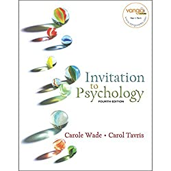 VangoNotes for Invitation to Psychology, 4/e