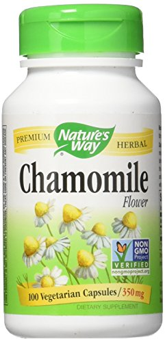 Nature's Way Chamomile, 350 Milligram, 100 Capsules