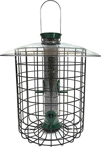 DROLL YANKEES INC Sunflower Domed Cage Feeder Green 15 - Domed Feeder Cage