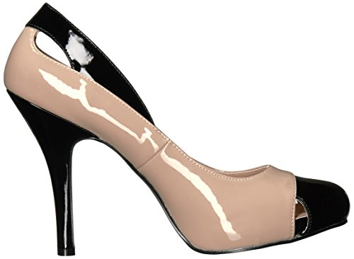 Pumps EVE Pleaser Pat Spectator Damen 07 Blk Cream pPRI8A