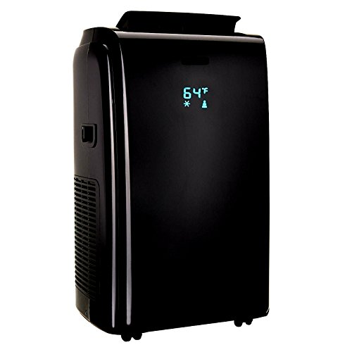 Air Conditioner Led Portable 12000 BTU 3 In 1 And Dehumidifier & Remote Black 550 Square Feet Electronic Control - Skroutz
