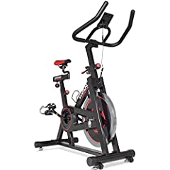 Are you looking for a better way to get into shape? It's time to lose weight and get fit with the Titan Fitness indoor exercise cycle! The sturdy steel design is made for heavy-duty use, either in a spinning class at the gym or for convenient...