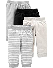 Simple Joys by Carter's Baby 4-Pack Neutral Fleece Pants