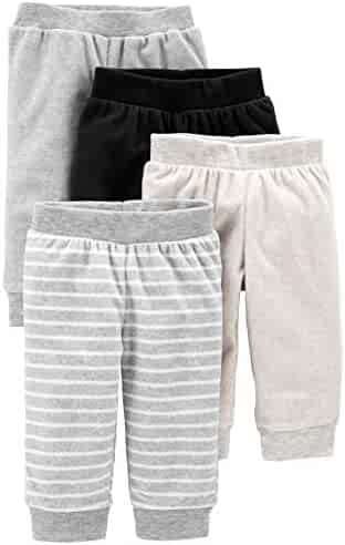 Simple Joys by Carter's Baby 4-Pack Fleece Pants