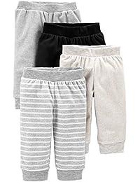 Baby 4-Pack Neutral Fleece Pants