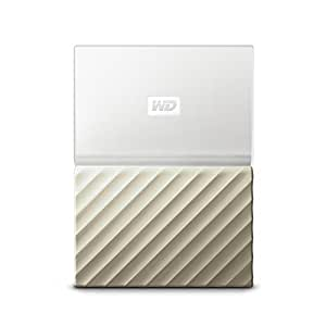 WD 4TB White-Gold My Passport Ultra Portable External Hard Drive - USB 3.0 - WDBFKT0040BGD-WESN