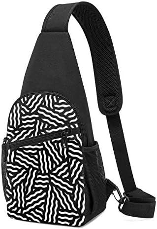 ボディ肩掛け 斜め掛け 幾何学のパターン ショルダーバッグ ワンショルダーバッグ メンズ 軽量 大容量 多機能レジャーバックパック