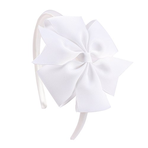 Special Beauty Nice 2 Pieces Solid Ribbon Pinwheel Bowknot Headbands for Kids Girls Handmade Hairband Candy Colors Hair Accessories