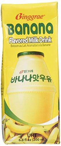 Binggrae Banana Flavor Milk 6 - Banana Nesquik