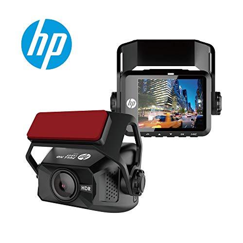 HP Dash Cam 1080P Full HD, Compact Size, HDR, G-Sensor, Loop Record, Emergency Record