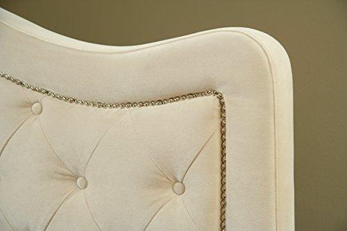 Hillsdale Furniture 1566BQRT Trieste Bed Set With Bed Frame, Queen, Buckwheat - bedroomdesign.us