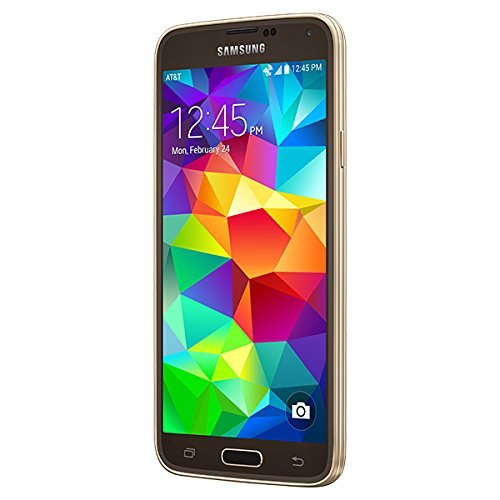 Samsung Galaxy S5 Unlocked Gsm Android Phone 4g LTE 16gb - International Version (Copper Gold)