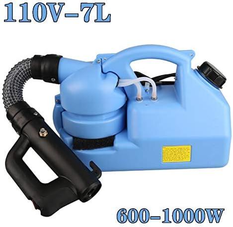 7Lポータブル電気ULV噴霧器噴霧器 - 80センチメートルホース超低容量噴霧器 - 屋内/屋外の衛生110Vの距離8-10メートル