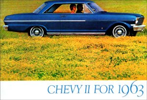 1963 Chevy II Sales Brochure (With Decal)