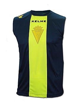 KELME - Cadiz Camiseta HINCHA S/M Hombre Color: Navy Talla: XL: Amazon.es: Deportes y aire libre