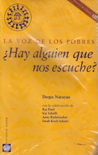 A Ha Alguien Que No Escuche: LA Voz De Los Pobres (Spanish Edition)