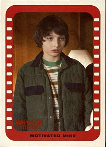 2018 Topps Stranger Things Season 1 Scenes Stickers #3 Motivated Mike Official Netflix Series Collector's Card