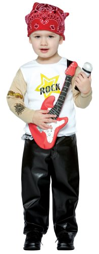 [FUTURE ROCK STAR BOY 3T TO 4T] (Rocker Costume For Boys)