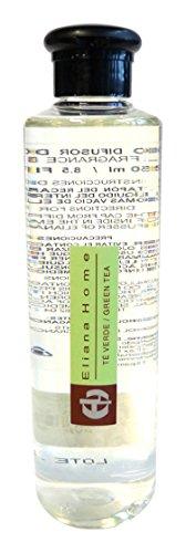 Eliana Home Liquido para difusor de 250 ml te Verde, Aceites Esenciales aromatizados, 4 50x4 50x18 7