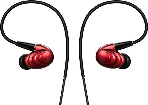 - FiiO F9 Best Over The Ear Headphones/Earphones/Earbuds Detachable Cable Design Triple Driver Hybrid in-Ear Monitors with Android Compatible Mic and Remote (Red) ...