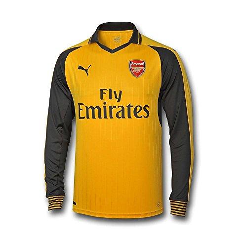 PUMA 2016-2017 Arsenal Away Long Sleeve Shirt (Kids)