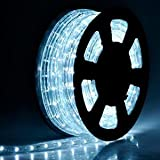 High Quality Lighting LED Rope Light 50 Ft Feet 50ft White Ii with Connector