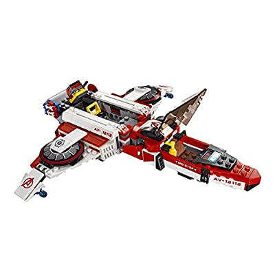 LEGO Super Heroes Avenjet Space Mission 76049: Toys & Games