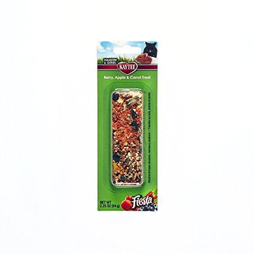 Kaytee Fiesta Berry Apple Carrot Treat Stick for Small Animals, 2.25-oz (Animal Apple Small)
