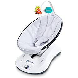 4moms rockaRoo - compact baby swing with front to back gliding motion