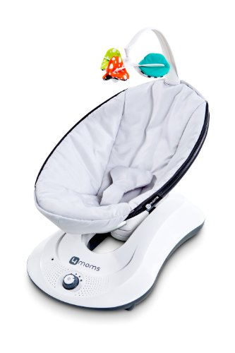 4moms, rockaRoo, Baby Swing, Grey Classic by 4moms