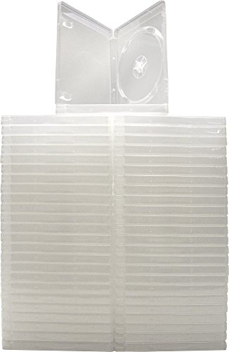 - (50) Empty Standard CLEAR 14MM Replacement Boxes / Cases with out logo for Playstation 3 (PS3) Games #VGBR14PS3CL