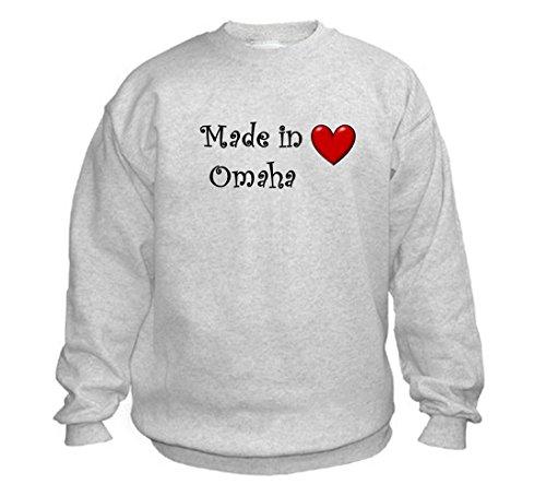 MADE IN OMAHA - City-series - Light Grey Sweatshirt - size XXL]()