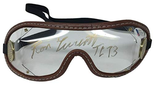 Ron Turcotte Autographed Signed Jockey Horse Racing Goggles Tc 73 Inscribed Bas