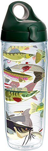 Tervis 1225008 Freshwater Fish and Lures Tumbler with Wrap a