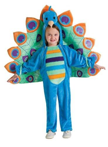 Peacock Costume - Toddler (Girl Peacock Costume)
