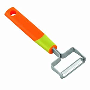 Kuhn Rikon Colourful Tools Julienne Peeler, Orange