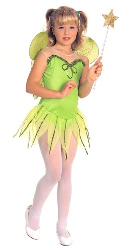Girls Tinker Bell Fairy Princess Costume - Child Small ()