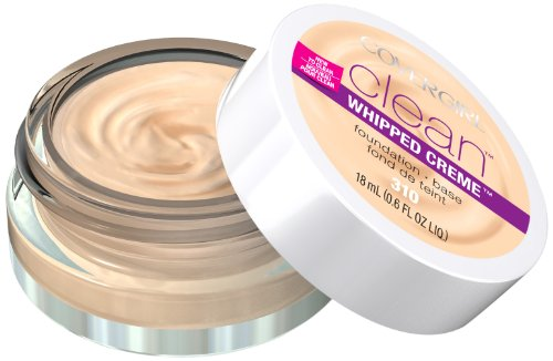 CoverGirl 310 Clean Whipped Creme Foundation, Classic Ivory, 0.6 Fluid Ounce