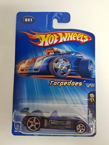 Tor-Speedo STAR SPOKE RIMS Torpedoes 1 of 10 2005 Editions Hot Wheels diecast car No. 041