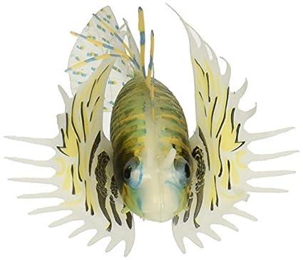 eDealMax plástico Brillante que Flota Moviendo la cola del pez león ornamento del acuario