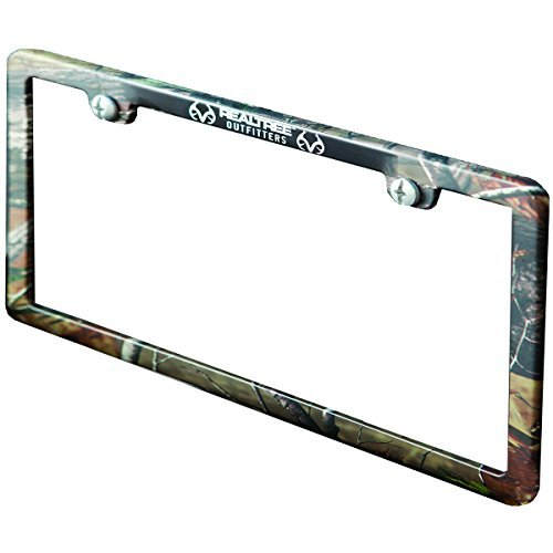 (Realtree License Plate Frame (Realtree AP Camo, Sold)