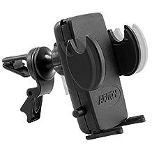 Arkon Air Vent Car Mount Holder for Smartphones, Retail Packaging, Black