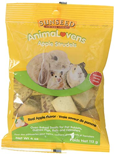 Sun Seed Company Sss34804 Animalovens Small Animal Apple Strudel, 3.5-Ounce