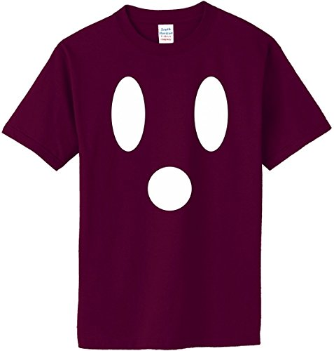 South Horizon Ghost Face T-Shirt~Maroon~Adult-5X ()