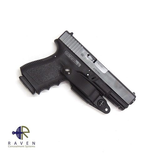 Raven Concealment Systems Ambidextrous Vanguard 2 Basic IWB Holster Kit Fits Glock Gen3/4, Black (2 Kit Fit)