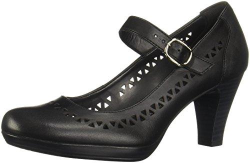 Flexi Mitzy 34304 Zapatos de Tacón para Mujer, Color Negro, 24.5