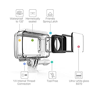 YI 4K Action Camera Waterproof Case for YI Lite / 4K / 4K+