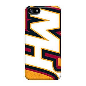 SherriFakhry Iphone 5/5s Protector Hard Cell-phone Cases Support Personal Customs Beautiful Miami Heat Series [NhM19213sslC]
