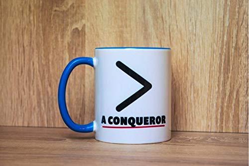 More Than A Conqueror Mug Survivor Gift Motivational Encouragement Winner Romans